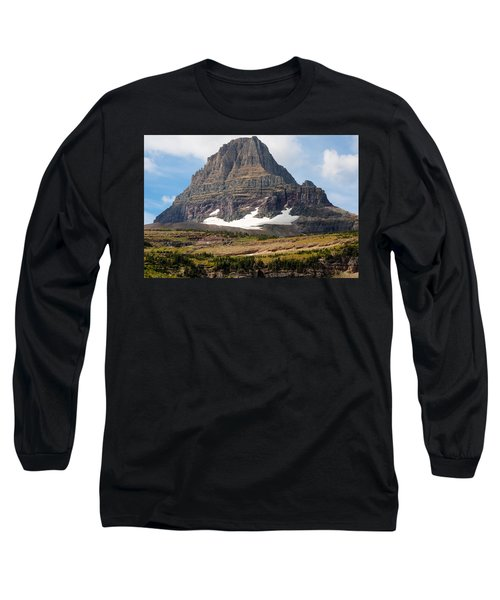 Long Sleeve T-Shirt featuring the photograph The Peak At Logans Pass by John M Bailey