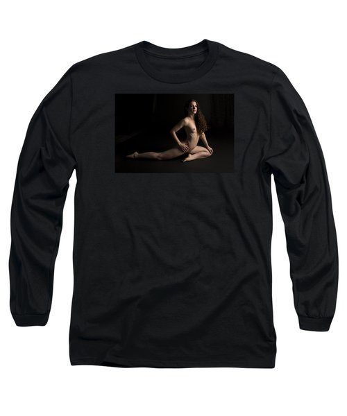Long Sleeve T-Shirt featuring the photograph The Piercing Eyes by Mez