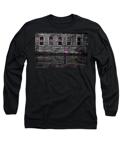 The Pink Umbrella Long Sleeve T-Shirt