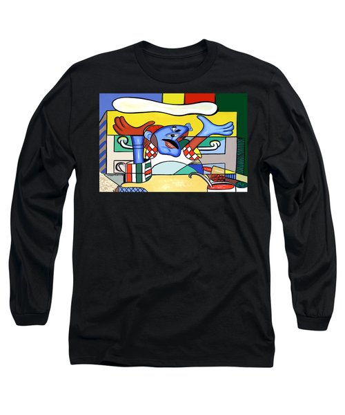 The Pizza Guy Long Sleeve T-Shirt