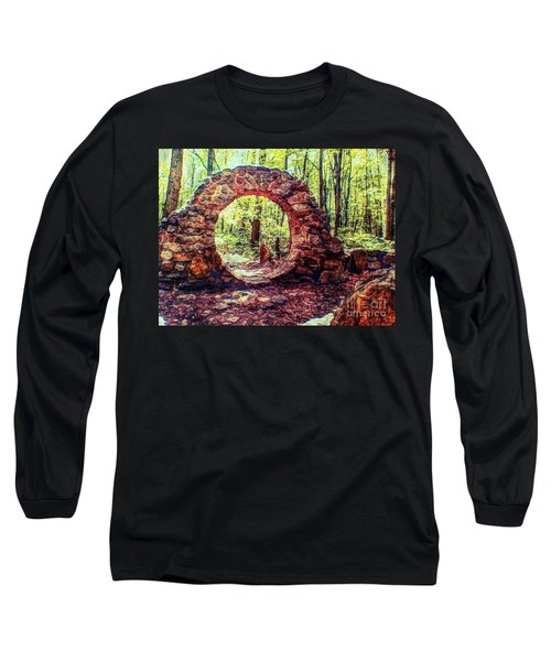 The Portal To Love Life Peace 1 Long Sleeve T-Shirt