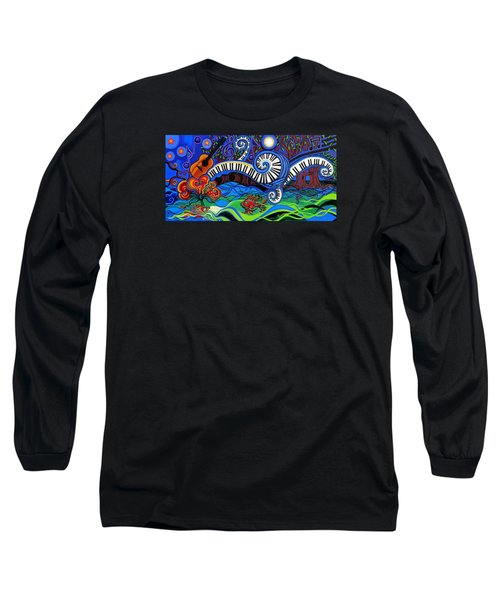 The Power Of Music Long Sleeve T-Shirt by Genevieve Esson