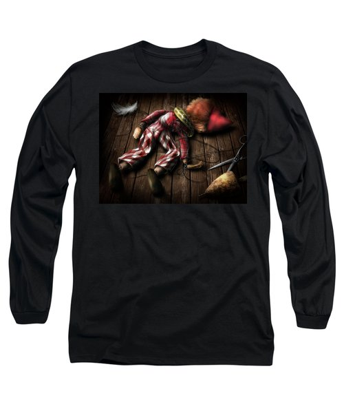 The Puppet... Long Sleeve T-Shirt by Alessandro Della Pietra