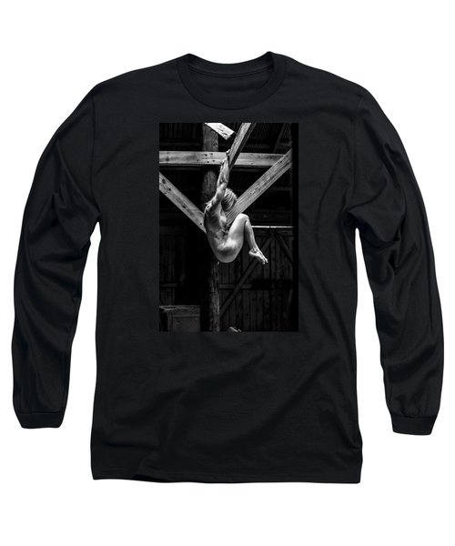 Long Sleeve T-Shirt featuring the photograph The Rafter Ornament by Mez