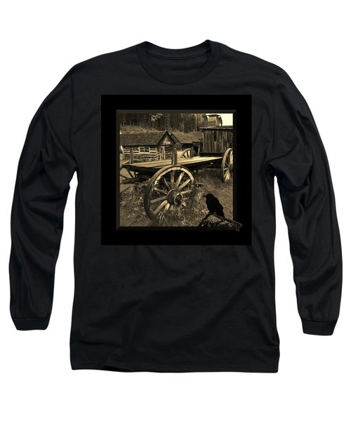 The Raven Flies Straight Long Sleeve T-Shirt