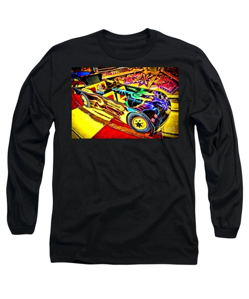 Long Sleeve T-Shirt featuring the photograph The Real Batmobile by Olivier Le Queinec
