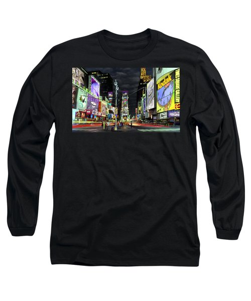 The Real Time Square Long Sleeve T-Shirt