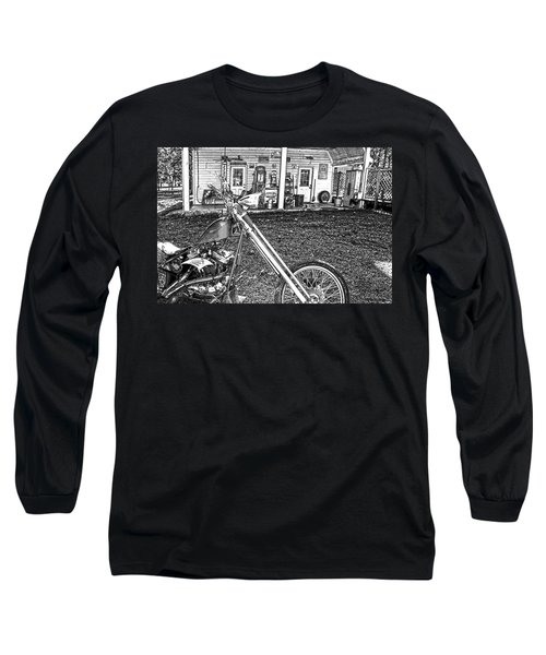Long Sleeve T-Shirt featuring the photograph The Rest   by Lesa Fine