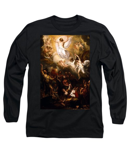 The Resurrection Long Sleeve T-Shirt by Munir Alawi