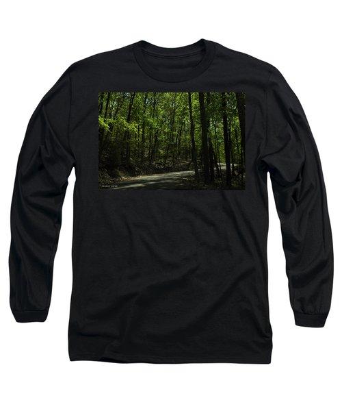 The Roads Of Alabama Long Sleeve T-Shirt by Verana Stark