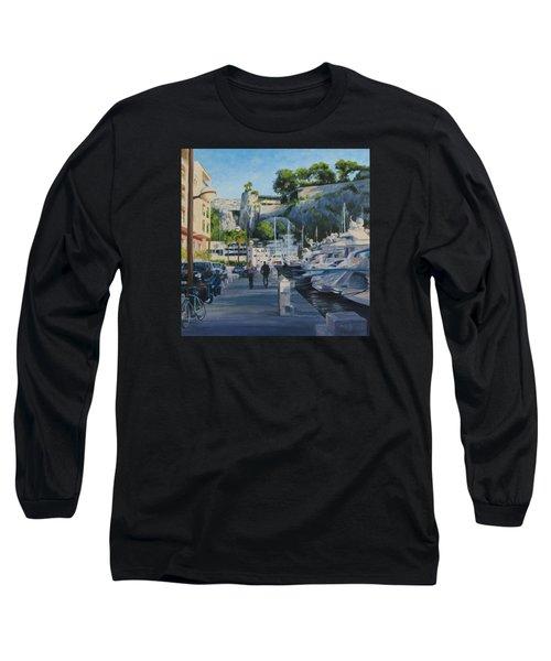 The Rock Ahead Long Sleeve T-Shirt by Connie Schaertl
