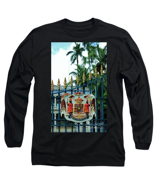The Royal Seal Of Hawaii Long Sleeve T-Shirt by Craig Wood