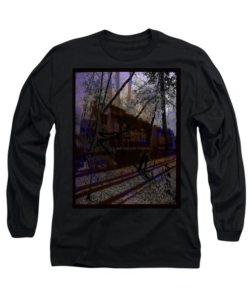 Long Sleeve T-Shirt featuring the digital art The Santa Fe by Cathy Anderson