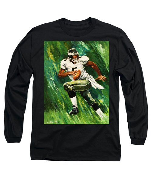 The Scambling Quarterback Long Sleeve T-Shirt