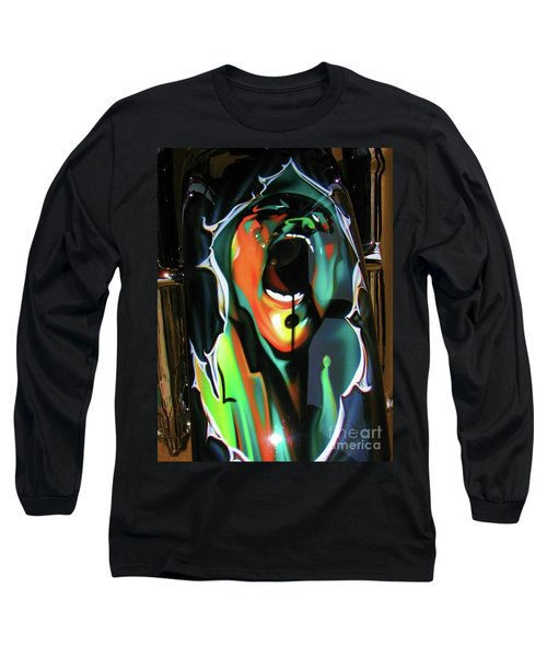 The Scream - Pink Floyd Long Sleeve T-Shirt