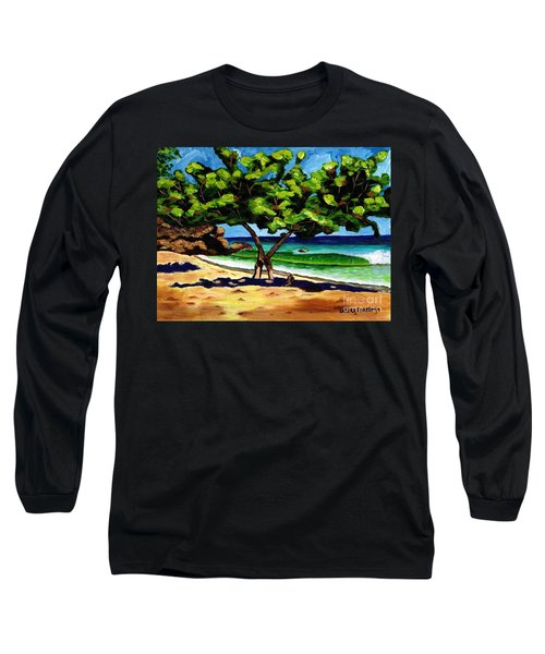 The Sea-grape Tree Long Sleeve T-Shirt by Laura Forde
