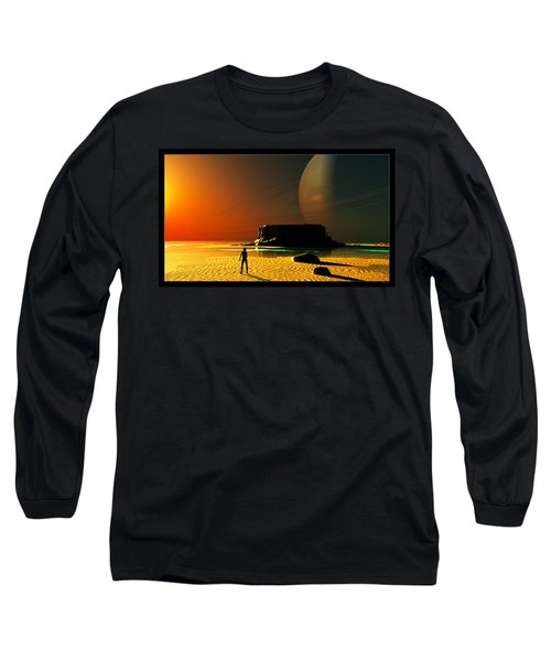 The Shore Of The Cupric Seas... Long Sleeve T-Shirt by Tim Fillingim
