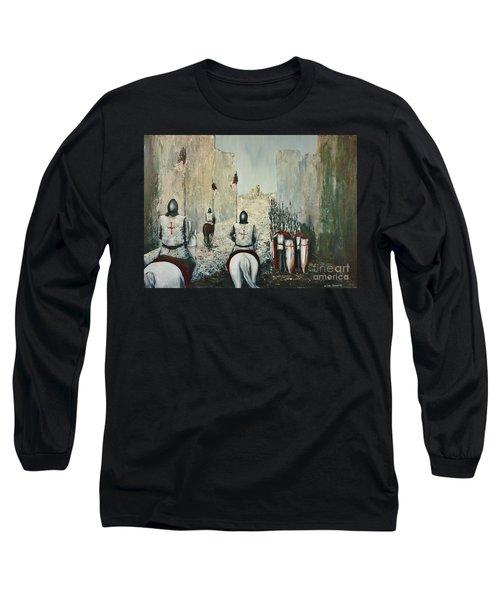 The Siege Of Ascalon Long Sleeve T-Shirt