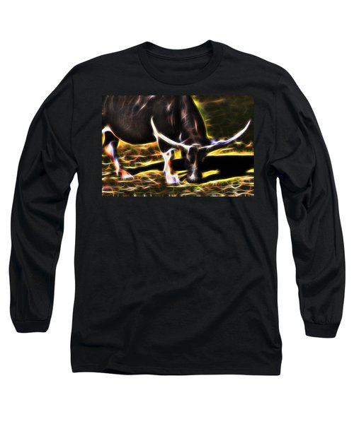 The Sparks Of Water Buffalo Long Sleeve T-Shirt