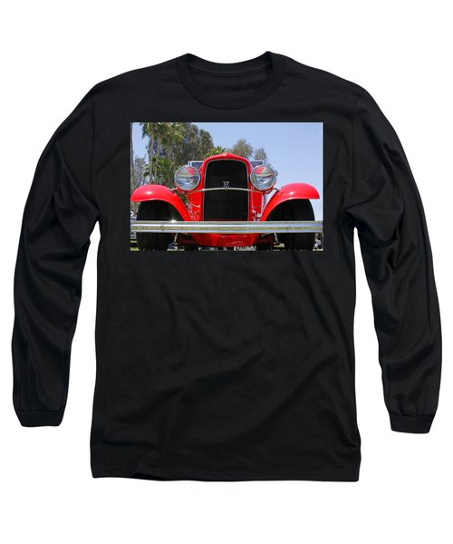 Long Sleeve T-Shirt featuring the photograph The Stare Of A V8 by Shoal Hollingsworth