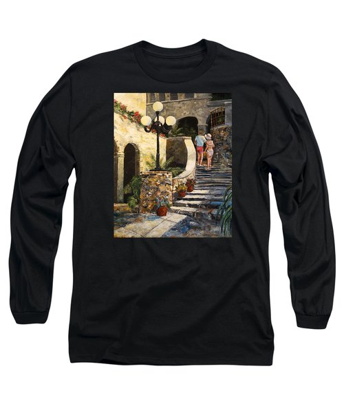 The Steps Long Sleeve T-Shirt by Alan Lakin