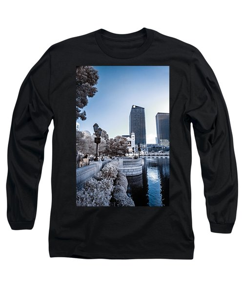 The Strip In Infrared Long Sleeve T-Shirt