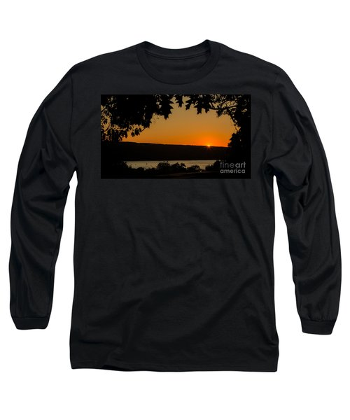 The Sun's Last Wink Long Sleeve T-Shirt