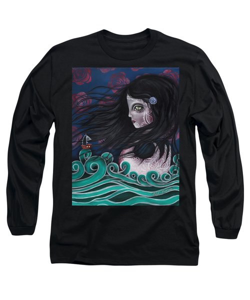 The Swan Long Sleeve T-Shirt by Abril Andrade Griffith