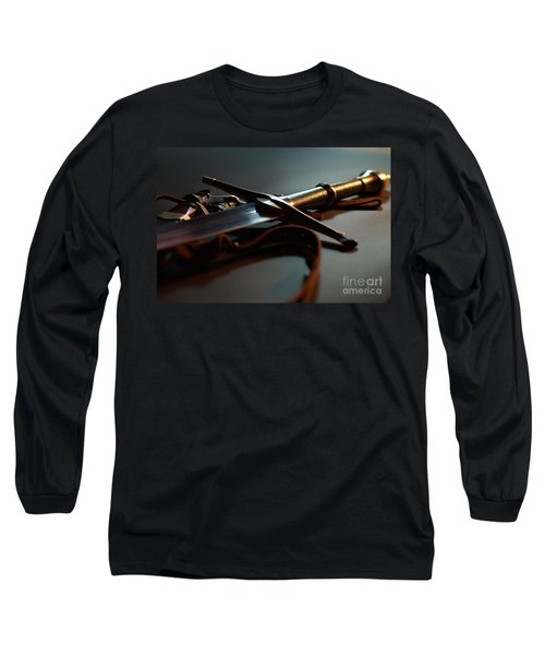 The Sword Of Aragorn 1 Long Sleeve T-Shirt by Micah May