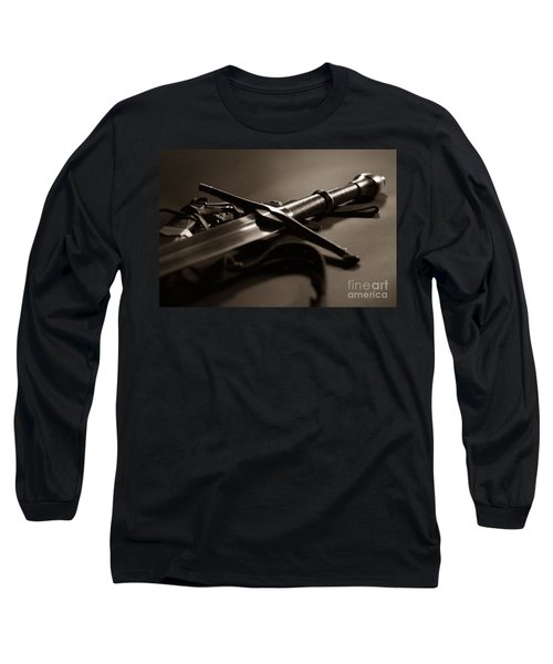The Sword Of Aragorn 2 Long Sleeve T-Shirt by Micah May
