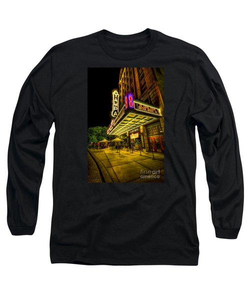 The Tampa Theater Long Sleeve T-Shirt by Marvin Spates