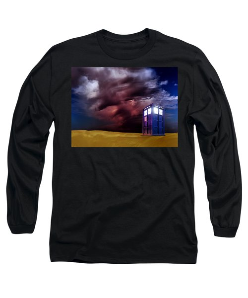 The Tardis Long Sleeve T-Shirt
