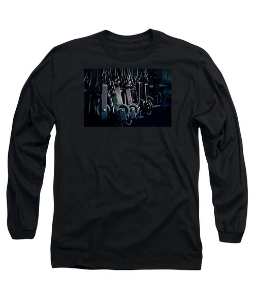 Tcm #2 - Slaughterhouse  Long Sleeve T-Shirt by Trish Mistric