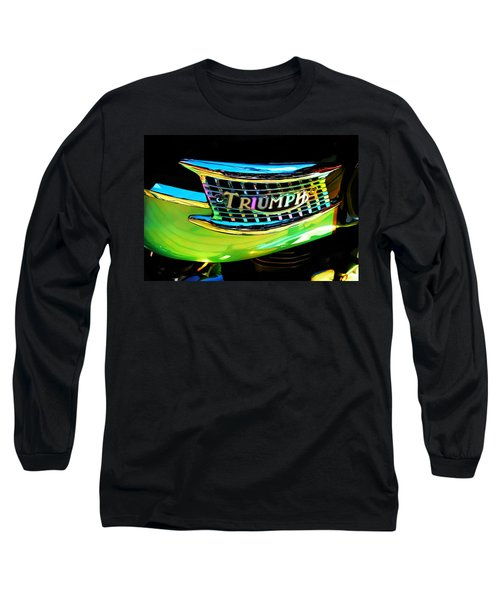The Triumph Petrol Tank Long Sleeve T-Shirt