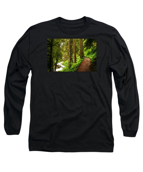 The Twisting Path Winding Through Paradise  Long Sleeve T-Shirt