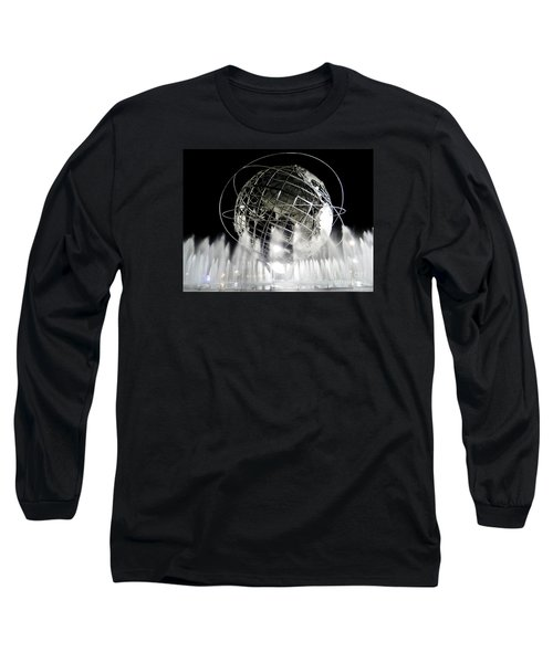 The Unisphere's 50th Anniversary Long Sleeve T-Shirt by Ed Weidman