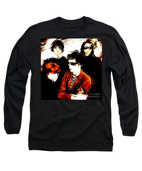 The Velvet Underground  Long Sleeve T-Shirt by Elizabeth McTaggart