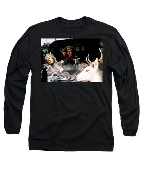 Long Sleeve T-Shirt featuring the photograph A Surreal View by Michael Hoard