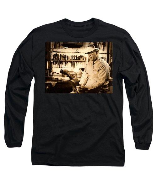 The Violin Maker Long Sleeve T-Shirt
