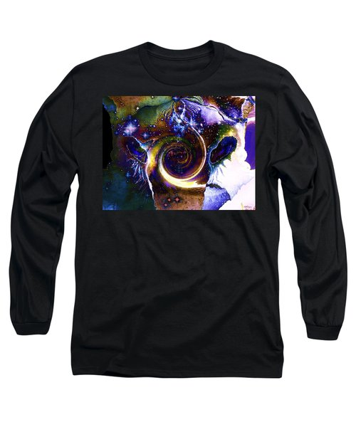 The Visitor Vanishes Long Sleeve T-Shirt