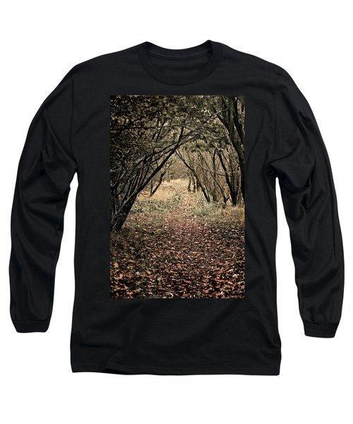Long Sleeve T-Shirt featuring the photograph The Walk by Meirion Matthias
