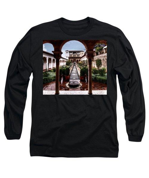 The Water Gardens Long Sleeve T-Shirt