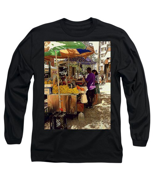 Long Sleeve T-Shirt featuring the photograph The Water Jug by Miriam Danar