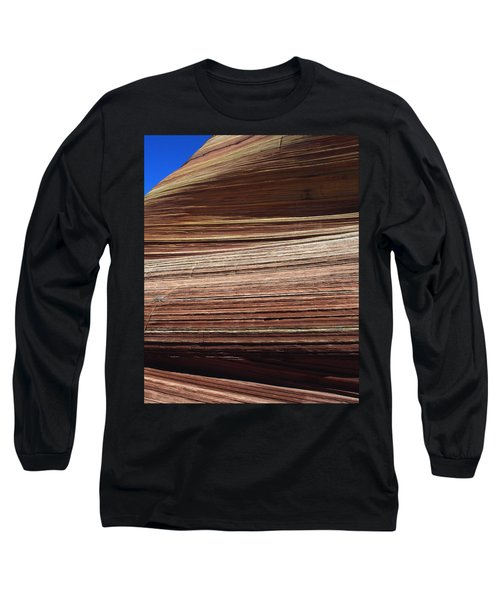 'the Wave' North Coyote Buttes 06 Long Sleeve T-Shirt