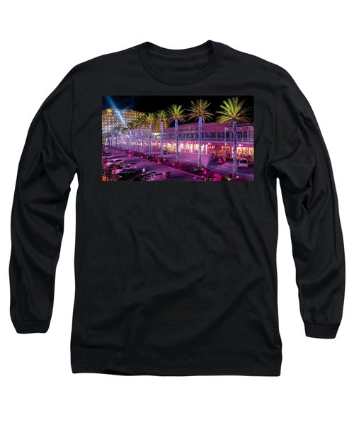 The Wharf @ Orange Beach Alabama Long Sleeve T-Shirt by Rob Sellers