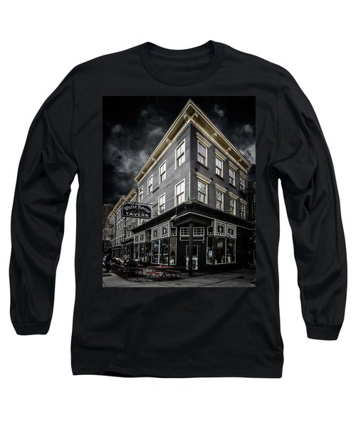 The White Horse Tavern Long Sleeve T-Shirt by Chris Lord