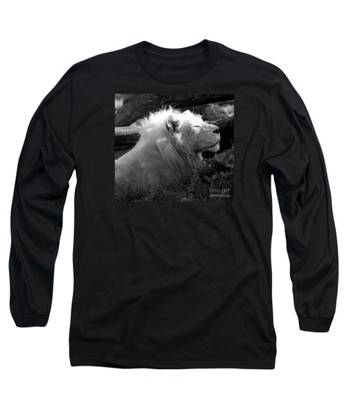 The White King Long Sleeve T-Shirt by Marcia Lee Jones