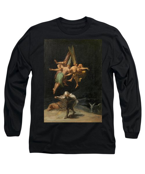 The Witches' Flight Long Sleeve T-Shirt