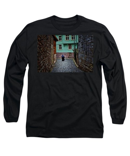 The Woman Near Chora Church Long Sleeve T-Shirt