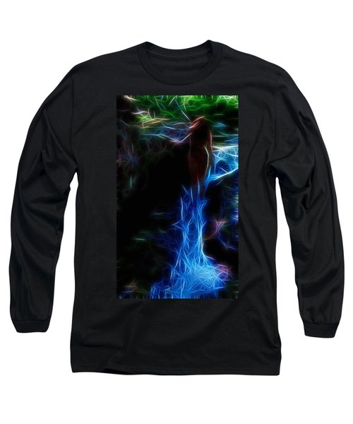 The Woods Are Lovely Dark And Deep Long Sleeve T-Shirt